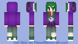 к ~ ❖Kido Tsubomi - Kagerou Project❖ Minecraft Skin