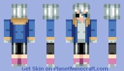Sans (Humanised) (Undertale) Minecraft Skin