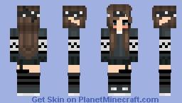 bandana girl Minecraft Skin