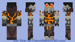 Deathwing (Human Form) - World Of Warcraft Minecraft Skin