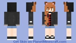 Somebody to you~ The girl part :3 Minecraft Skin