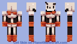 ∫ The great Papyrus! (Better in 3D) (Custom 3D preview in desc!) ∫ Minecraft Skin