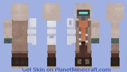 The Thing that goes Thump in the Night (Nuclear Winter Contest) Minecraft Skin