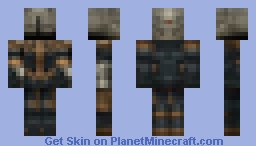 Warrior Minecraft Skin