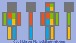 Microsoft Man Minecraft Skin