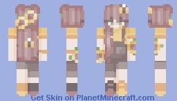 S u n f l o w e r p a t c h Minecraft Skin
