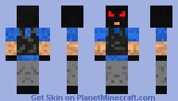 mad terroist (Griefer) Minecraft Skin