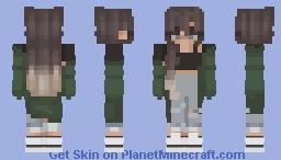 My girlfriend's skin Minecraft Skin