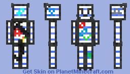 Scat the sketch Minecraft Skin