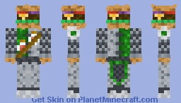 Burger Knight (my original skin) Minecraft Skin