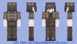 Shuichi Saihara || DRV3 [Halloween] Minecraft Skin
