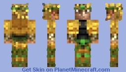 DIO「STARDUST CRUSADERS」- Jojo's Bizarre Adventure 16x Skin Minecraft Skin