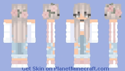Cute girl ❣ Minecraft Skin