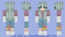 Soft Girl Minecraft Skin