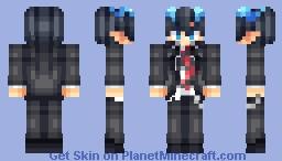Rin Okumura Blue Exorcist -Thinking z Minecraft Skin