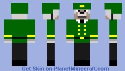 Wolf Soldier Minecraft Skin