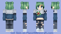 Where I'm From Flowers Grow in the Dark [ST] Minecraft Skin