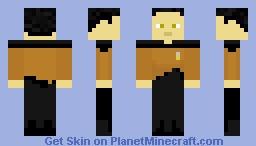 Data TNG Minecraft Skin