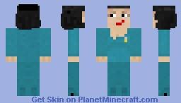 Deanna Troi TNG v2 Minecraft Skin