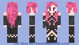 Egoist Inori girl Minecraft Skin