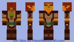 Feir'Dal Wood Elf (Everquest) Minecraft Skin