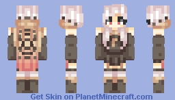 hating everything Minecraft Skin