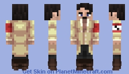 Adolf Hitler Minecraft Skin