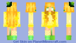 ʟᴇᴍᴏɴ ɢɪʀʟ Minecraft Skin