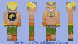 Overwatch: Junkrat Minecraft Skin