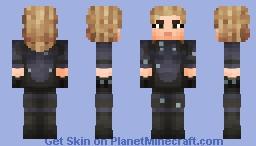 Invisible Woman | Fant4stic Minecraft Skin