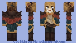 """I wouldn't be lion to ya'."" Minecraft Skin"