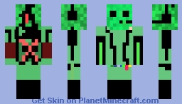 ghostbusting slime Minecraft Skin