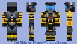 HALO REACH / My Spartan Minecraft Skin