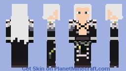 Sephiroth Crescent - Final Fantasy 7 Minecraft Skin
