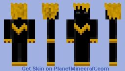 Shaggy Shadow Minecraft Skin