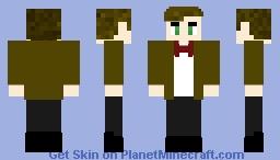 11th Doctor Minecraft Skin