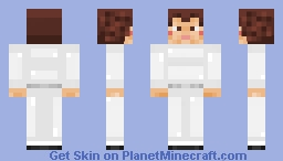 Princess Leia ||| In Memory of Carrie Fisher Minecraft Skin