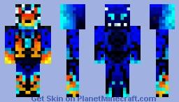 Future Clash Minecraft Skin