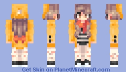Poncho time Minecraft Skin