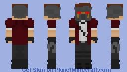 Starlord 2017 Minecraft Skin
