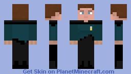 Science officer TNG Minecraft Skin