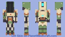 Overwatch - Bastion Minecraft Skin