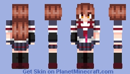 Shiratsuyu Minecraft Skin