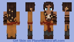 ⊰ Dark Skinned Fighter ⊱ Minecraft Skin