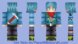 Trunks|Dragonball Super Minecraft