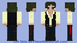Han Solo (A New Hope) Minecraft Skin