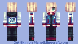 Yuri Sinnamon Roll Plisetsky Minecraft Skin