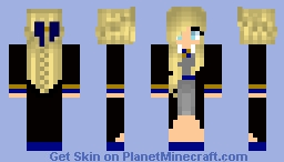 Raven claw girl from Harry potter❤️ Minecraft Skin