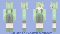 Life Is Green Minecraft Skin