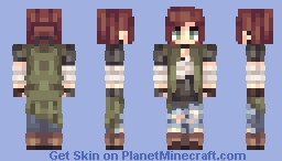 Critical || Witchu's Contest R1 Minecraft Skin